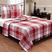 jetée canapé jeté de lit ou de canapé tartan 250 x 360 cm achat vente