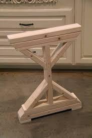 Adjustable Drafting Table Plans Diy Desk Legs Best 25 Desk Legs Ideas On Pinterest Diy Table Legs