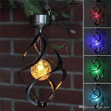 multi colored hanging lights best solar power rotating led hanging light color changing solar