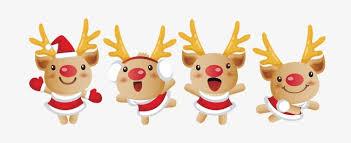 imagenes animadas de renos de navidad reno dibujos animados de navidad elemento material navidad reno