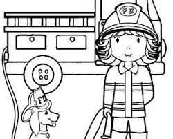 firefighter coloring pages adults firefighter coloring