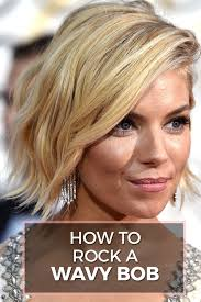 short hairhair straght on back curly on top wavy bob hairstyles how to rock this summer s it cut huffpost