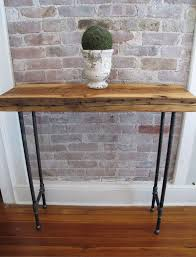 Reclaimed Wood Console Table Best 25 Industrial Console Tables Ideas On Pinterest Tv Table