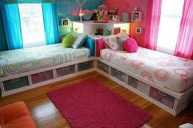Diy Twin Bed Frame With Storage Diy Twin Corner Beds With Storage Home Design Garden