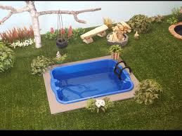 Backyard Pool Pictures How To Make A Doll Backyard Pool 2 Youtube