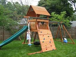 img backyard swing sets i think this world is perfect the set ate