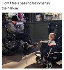 Wheelchair Meme - i was young once memebase funny memes