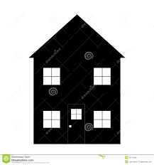 simple house outline stock illustration image 54314989