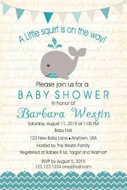 whale baby shower whale boy teal baby shower invitations invitetique