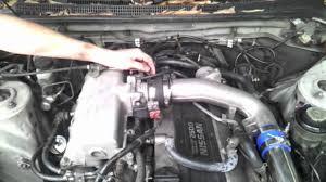 r33 skyline fmic install issues engine cutting boost problems