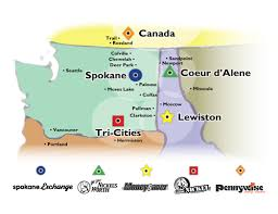spokane zip code map place your classified the exchange