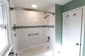 White And Green Bathroom - bathroom remodel burke va contractors ramcom kitchen u0026 bath