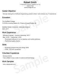 employment objective for resume resume builder free resume template us lawdepot