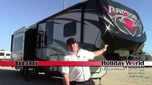 new 2015 keystone raptor 375ts fifth wheel toy hauler rv holiday