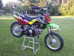2008 kawasaki klx 110 perfect pit bike