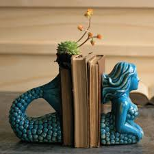 mermaid decorations for home 17 quirky cool bookends to organize your shelves in style mermaid
