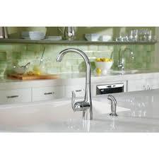 single handle high arc kitchen faucet moen 7790 arbor single handle high arc kitchen faucet homeclick com