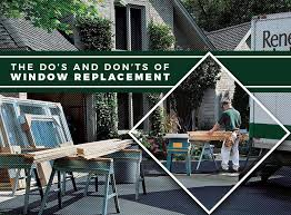 home design do s and don ts dos and don ts of window replacement