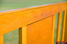 Maple Wood Furniture Vintage 1920s Northern Furniture Company Sheboygan Wi Birdseye
