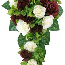 Silk Bridal Bouquet Best Cascading Bridal Bouquets Products On Wanelo