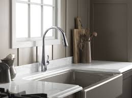 kohler simplice kitchen sink faucet with 16 5 8