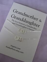 grandmother and granddaughter necklaces necklace 60th birthday gift for grandmother