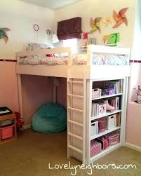 girls loft bed with a desk and vanity girls loft bed with desk charming loft beds a bed for my lovely