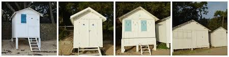 cabine de plage bois les cabines du bois de la chaise au coeur de l u0027hiver un her d u0027océan
