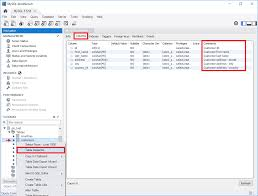 Mysql Change Table Collation How To View And Edit Table And Column Comments With Mysql Workbench