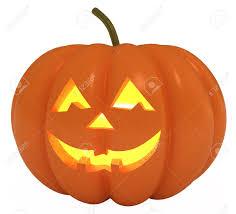 happy halloween pumpkin jack o lantern 3d illustration stock