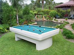 Outdoor Pool Tables by 3000 Series Outdoor Pool Table