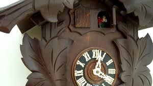 Ebay Cuckoo Clock 2 Door Musical Cuckoo Clock Youtube