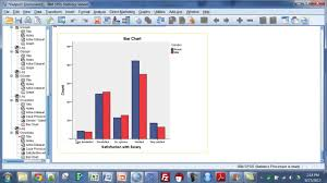 spss summarizing two categorical variables youtube