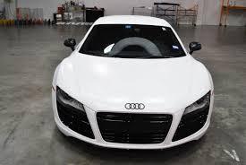 audi color changing car black audi r8 color change to satin white car wrap city