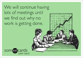 Work Meeting Meme - yanado task management inside gmail