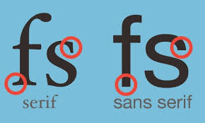 Difference Between Structural And Decorative Design What Is The Difference Between Serif And Sans Serif Typefaces