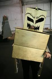 halloween costume ideas using recycled materials