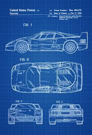 29 best cars patent prints images on pinterest automobile wall