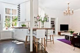 white decorating ideas and bright accents show modern interior