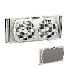 electrically reversible twin window fan twin window fan dual blade ventilation exhaust white reversible