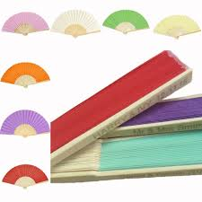 personalized paper fans buy personalized folding fan and get free shipping on aliexpress