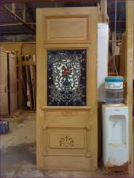 Wooden Interior Doors Lowes Furniture Amazing Oak Interior Doors With Glass Panels Solid
