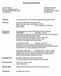 college resume exles simple resume exles for college students