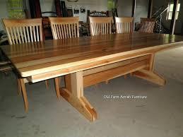 Dining Room Furniture Melbourne - handmade oak dining table uk handmade timber dining tables