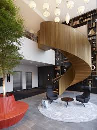 home interior awesome contemporary staircase deign with wood