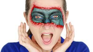 halloween skin mask snake skin mask sfx makeup tutorial halloweenxtra 30 makeup videos
