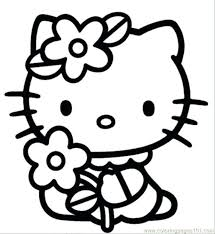 coloring pages kitty print bad kitty printables kitty cat
