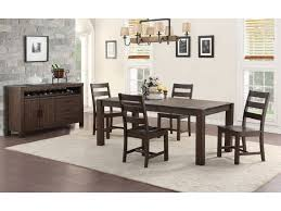 folio select dining room hunter dining table 4 chairs and bench