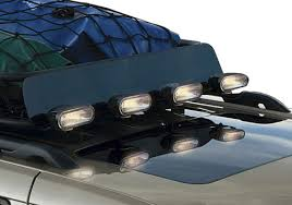 jeep wj roof lights mopar oem jeep grand cherokee roof basket carrier off road light kit