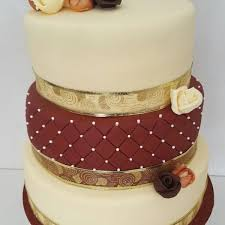3 tier wedding cake with vanilla chocolate u0026 red velvet manchester